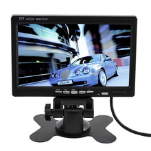 2016 High Quality Brand New 7 Inch TFT LCD Color Car Rear View Monitor DVD VCR For Reverse Backup Camera