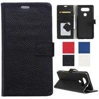 Flip Genuine Leather Wallet Case For LG G4 Stylus LS770 G4 Note G Stylo H815 G6