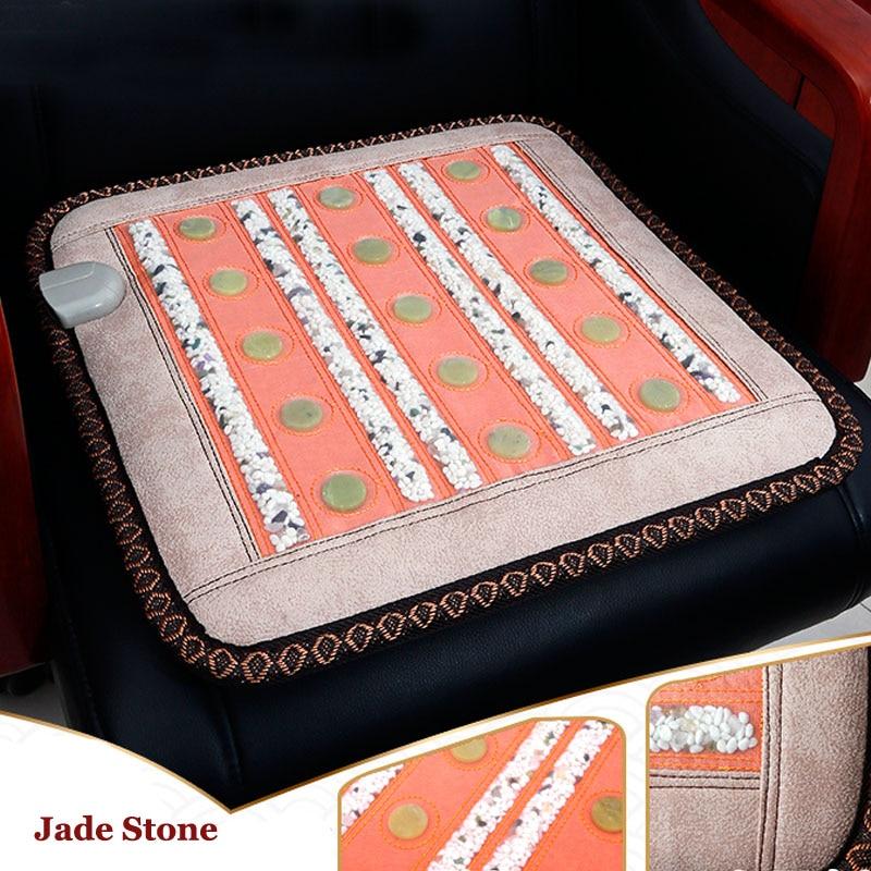 massage 2019 new jade cushion Seat cushion boss chair jade car cushion sofa mat Bottom heating matmassage 2019 new jade cushion Seat cushion boss chair jade car cushion sofa mat Bottom heating mat
