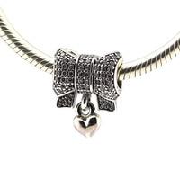 925 Silver Beads For Pandora Bracelet Pendant Heart Beads Silver Charm Fashion DIY Fashion Jewelry Wholesale
