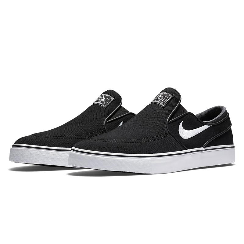 23c6837466c25 Original oficial NIKE Nike SB Zoom Stefan Janoski Skateboarding Sapatos  Tênis Respirável dos homens Slip On CNVS Hard vestindo Plana em Sapatos de  skate de ...
