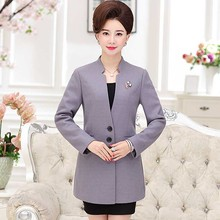 The yi Dan butterfly spring new cloth coat middle-aged and old women's suit P20173010(China)