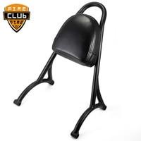 Sissy Bar Passenger Backrest Motorcycle Back Rest for Harley Sportster XL 883 1200 04 16