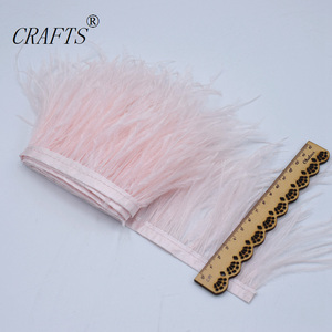 Image 3 - Vente ceinture en tissu de plumes dautruche blanche
