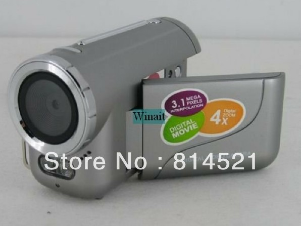 Christmas Gift 3.1M DV DIGITAL VIDEO CAMCORDER CAMERA DV 136 &Free Shipping