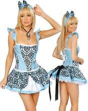 Wonderland Costume Women - Sexy Halloween Storybook in Cosplay 3S9503