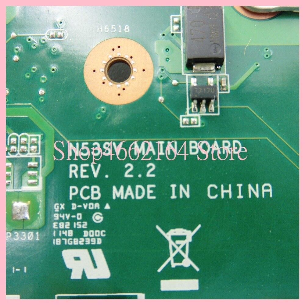 Image 5 - N53SV 4 memory slots GT540M/1GB mainboard REV2.0/REV2.2 For ASUS N53S N53SV N53SN N53SM Laptop motherboard MAIN BOARD-in Laptop Motherboard from Computer & Office