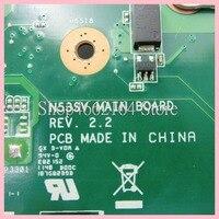 mainboard האם N53SV 4 חריצי זיכרון GT540M / REV2.0 mainboard 1GB / REV2.2 עבור ASUS N53S N53SV N53SN N53SM נייד האם MAIN BOARD (5)