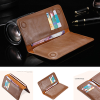 Durable Luxury Wallet Genuine Leather Phone Bag Case For Xiaomi Redmi 4 For All Phone Screen