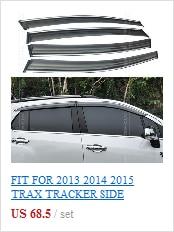 Для Chevrolet Tracker Trax Holden 2013+ OE Styled брызговик s mudflaps Брызговики Передняя тыльная грязь щитки Брызговики