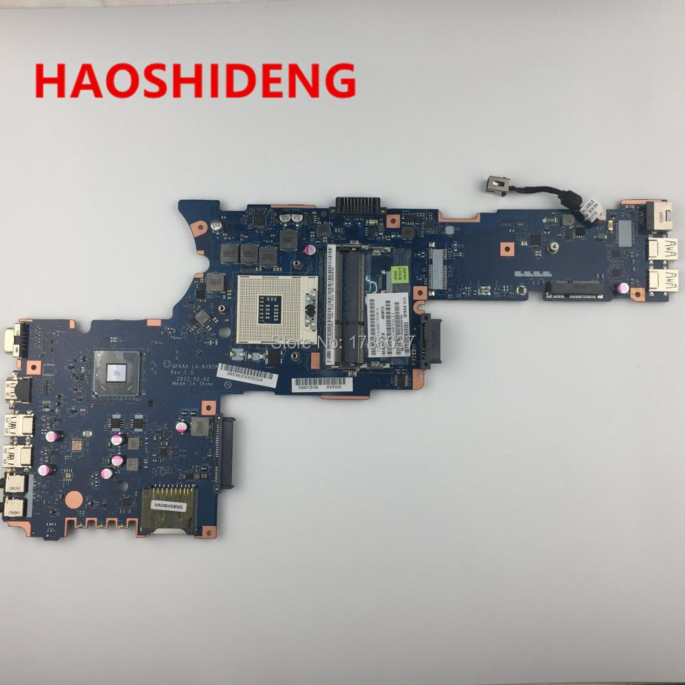 все цены на K000135160 LA-8392P for Toshiba Satellite P850 P855 series Laptop Motherboard .All functions fully Tested !