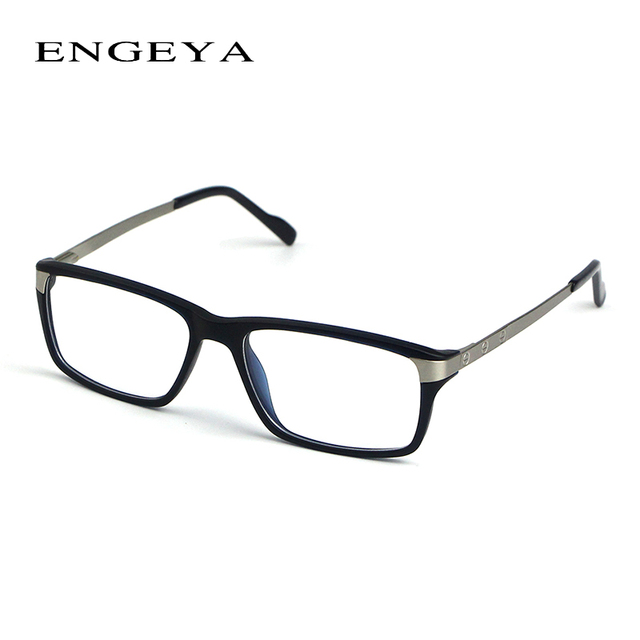 e6f33773efb ENGEYA TR90 Clear Fashion Glasses Frame Brand Designer Optical Eyeglasses  Frames Men High Quality Prescription Eyewear