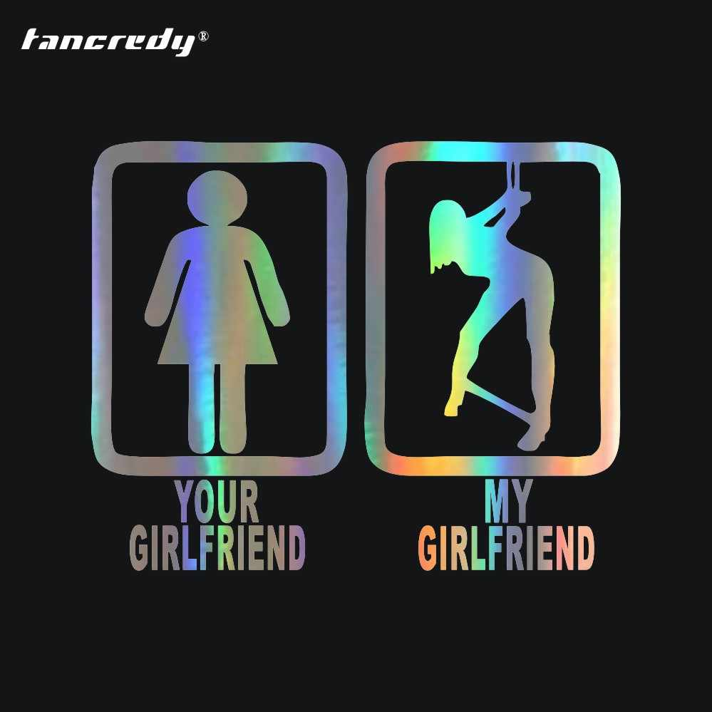 Tancredy sexy girl your girlfriend my submissive bdsm funny decal beauty sex funny car sticker window