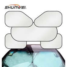Wholesale 6pcs/set Car Sunshade Sets Sunscreen Sun-Shading Board Car Window Solar Protection Baffle Car Accessories