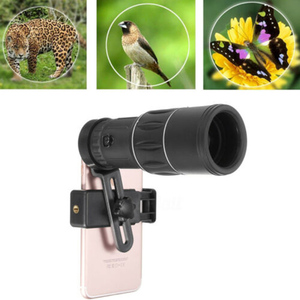Image 1 - HD 16x Zoom Lens Telescope Camera With Clip For iPhone XS MAX Samsung Note 9 8 S9 Plus Universal Lens
