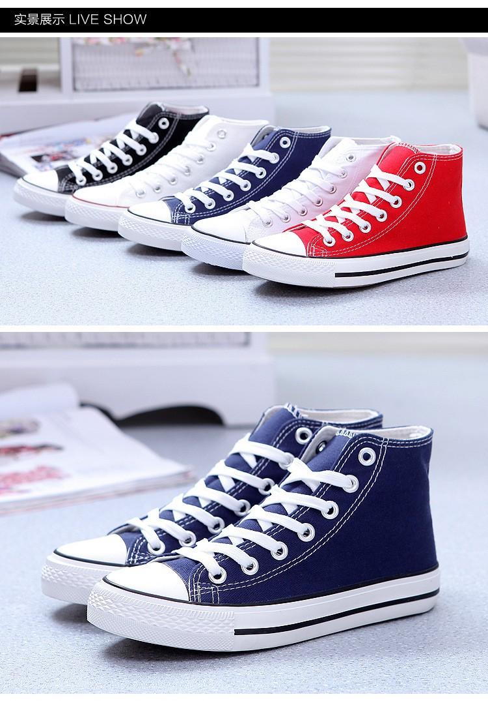 Canvas Shoes Sneaker