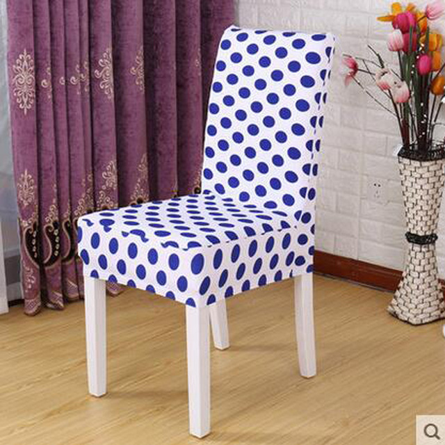 kitchen chair covers. 1 Piece Sure Fit Soft Stretch Spandex Pattern Chair Covers For Kitchen Short Dining