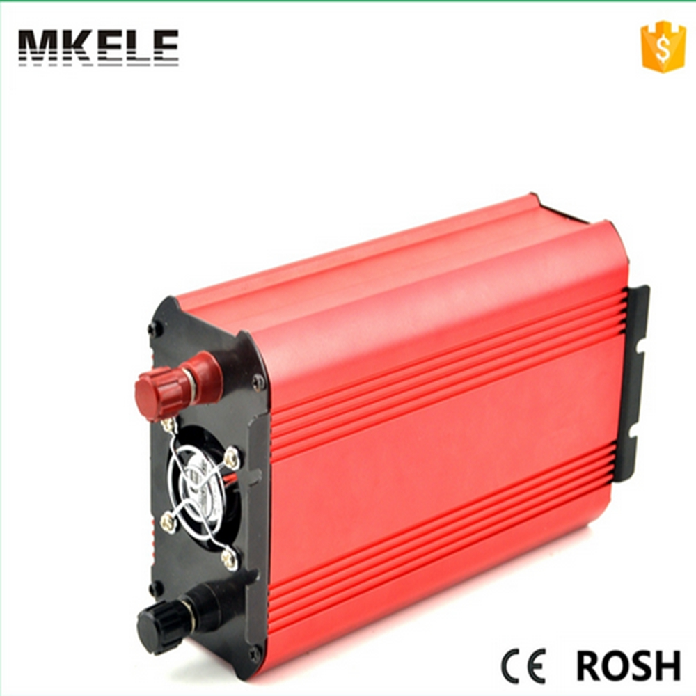 цена на MKP500-241R small size high quality industrial inverter 500w 24vdc 120vac pure sine wave form power inverter made in China