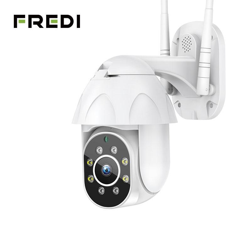 FREDI 自動追尾屋外 IP カメラ 1080 P スピードドーム監視カメラ防水ワイヤレス WiFi セキュリティ CCTV カメラ YCC365  グループ上の セキュリティ & プロテクション からの 監視カメラ の中 1