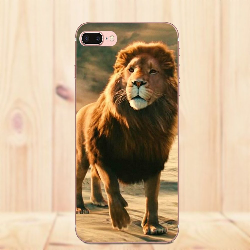 US $1 99 |Aslan Lion The Chronicles Of Narnia For Huawei P7 Honor 4C 5A 5C  5X 6 6C 6A 6X 7 7X 8 9 V8 V10 Y3II Y5II Y6II G8 Play Lite-in Half-wrapped