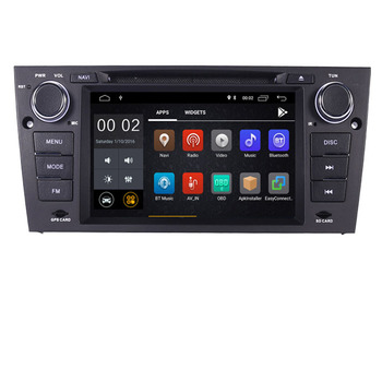 2G+16G android 10 car dvd player for bmw E90 E91 with Quad Core Wifi 3G GPS Bluetooth Radio RDS USB SD Steering wheel Control image