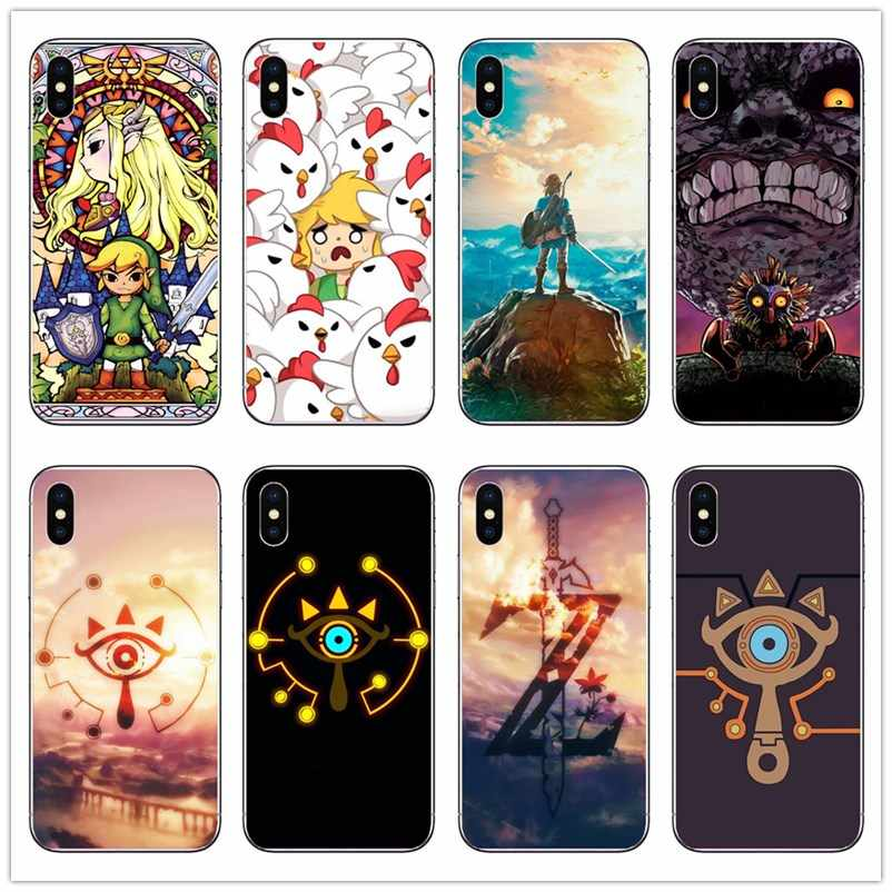The Legend Of Zeldas Coque Phone Shell Case For IPhone 8 8Plus 7Plus 6 6SPlus 5S SE XS XR XA MAX Hard PC Cute Cartoon Cover