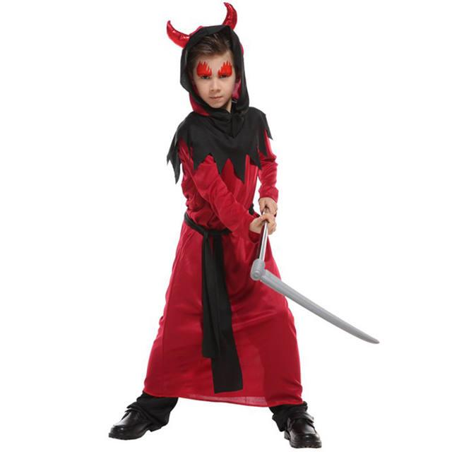 Boys Halloween Little Devil Costume