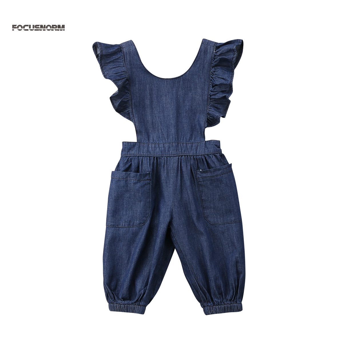 Baby Overalls Outfits Bodysuit Long-Leggings Kids Denim Autumn Fashion New-Arrival