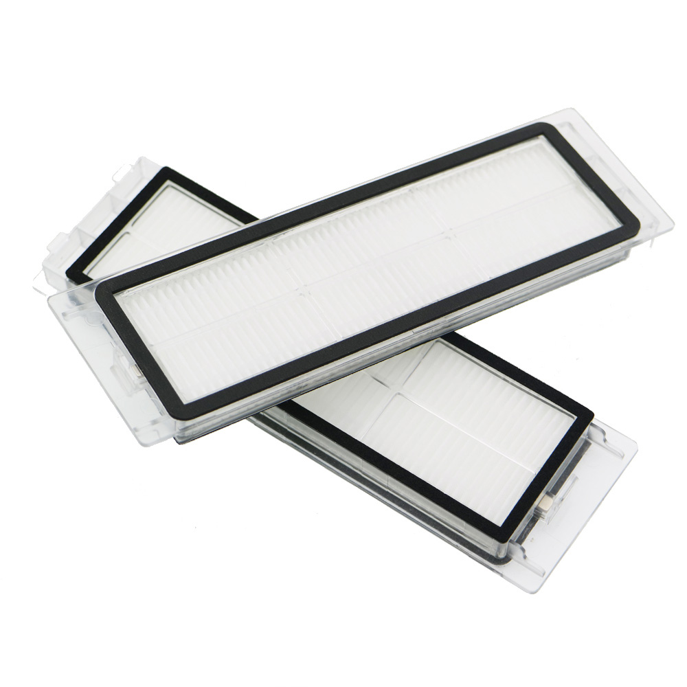 2Pcs Suitable for Robotic Vacuum Cleaner robotic parts Pack HEPA Filter for xiaomi mi Robot Filters roborock cleaner accessories 2pcs dust hepa filter sponge filters for ilife x750 v8 v8s robot robotic vacuum cleaner spare parts accessories