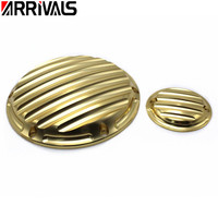 Motorcycle CNC Golden Timer Derby Cover Timing Covers for Harley Sportster XL 883 1200 2004 2014 2015
