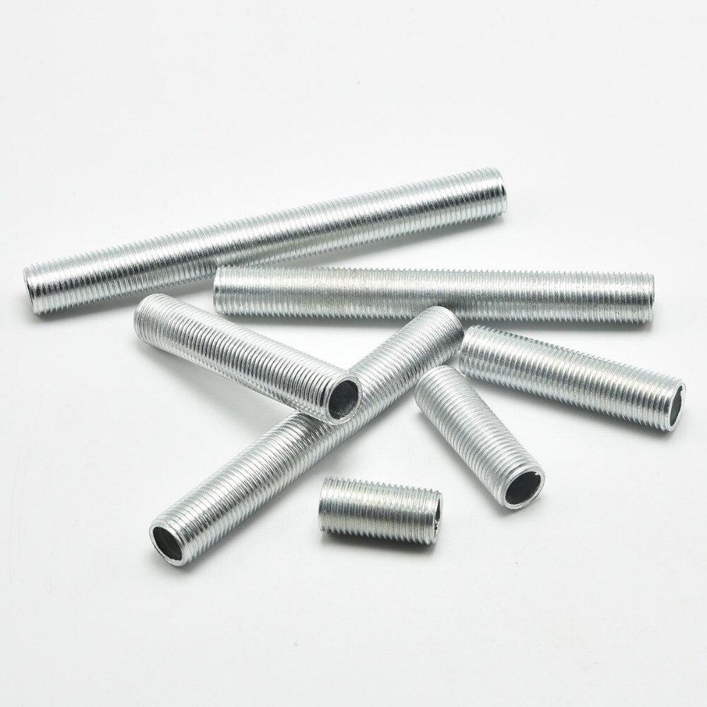 M10 лампа болты 10 мм Диаметр зуб трубки цинковый сплав M10 Мужская резьба зуб трубы аксессуары для освещения 60 шт