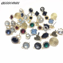 assoonas M50/jewelry accessories/jewelry findings/accessory parts/jewelry findings components/Copper Earring accessories/DIY/