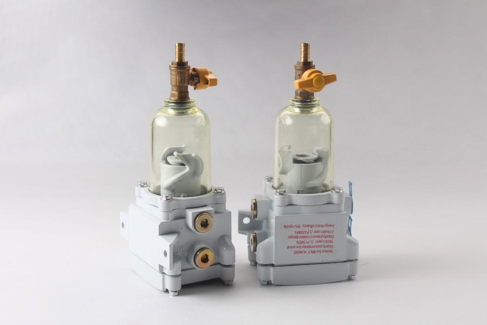 Fuel water separator SWK-2000-5 Single Clear Bowl