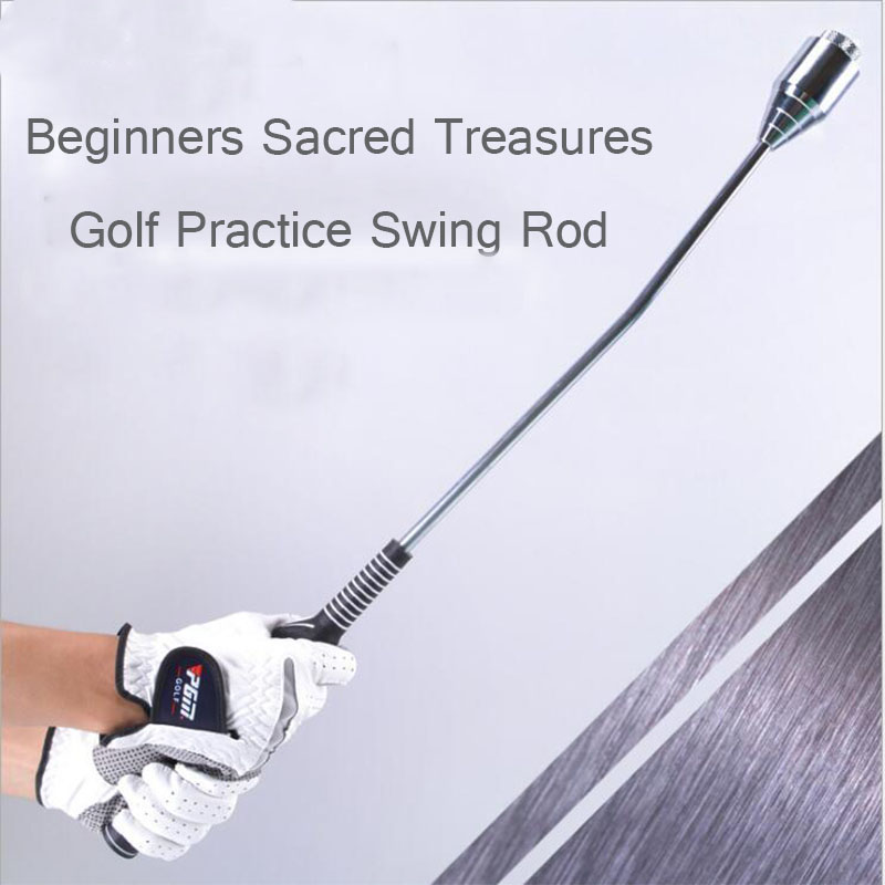 65cm Golf Swing Practice Stick Beginner Swing Coach Recommended Hand Grips Correct Posture Removable Golf Training Aid