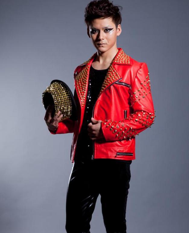 Aliexpress.com : Buy Red black fashion Rivets punk Motorcycles pu ...