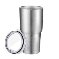 New Sale Stainless Steel Sliver Metal Insulated Tumbler Travel Mug Water Bottle Beer Coffee Tea Mugs