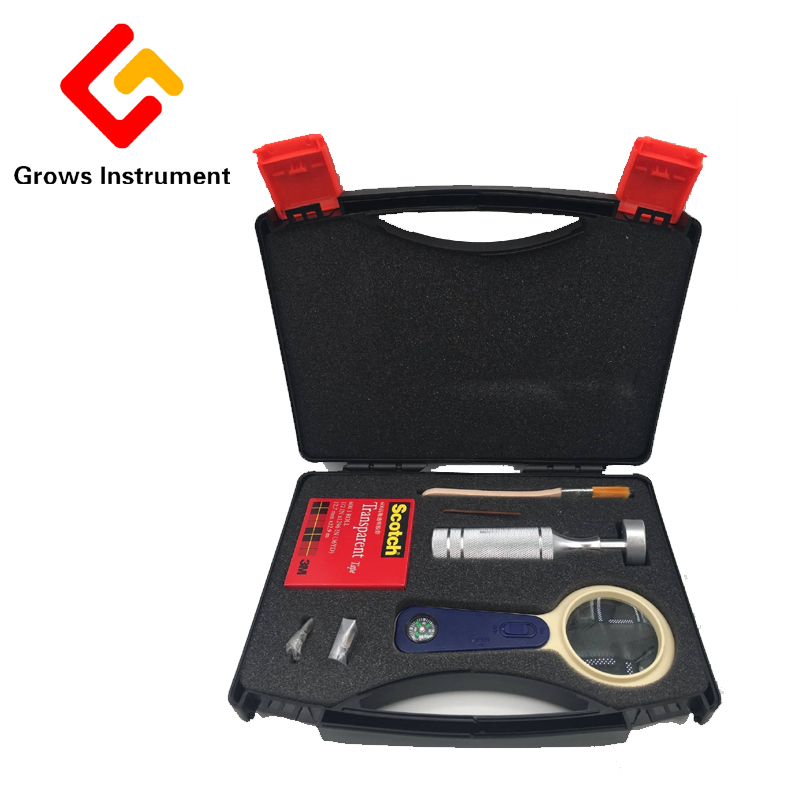 1mm+2mm Adhesion Tester QFH Adhesive Force Measuring Instrument Hundred Grid Knife Suitable For GB/T9286-98,BS3900 E6/ASTM D3359 at11 breath alcohol tester portable measuring instrument wine black