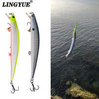 1pcs Fishing Lures 12.5cm/12g Minnow Lure Rattling High Quality Hard Bait Crankbait Wobbler Fishing Tackle Leurre Peche For Pike