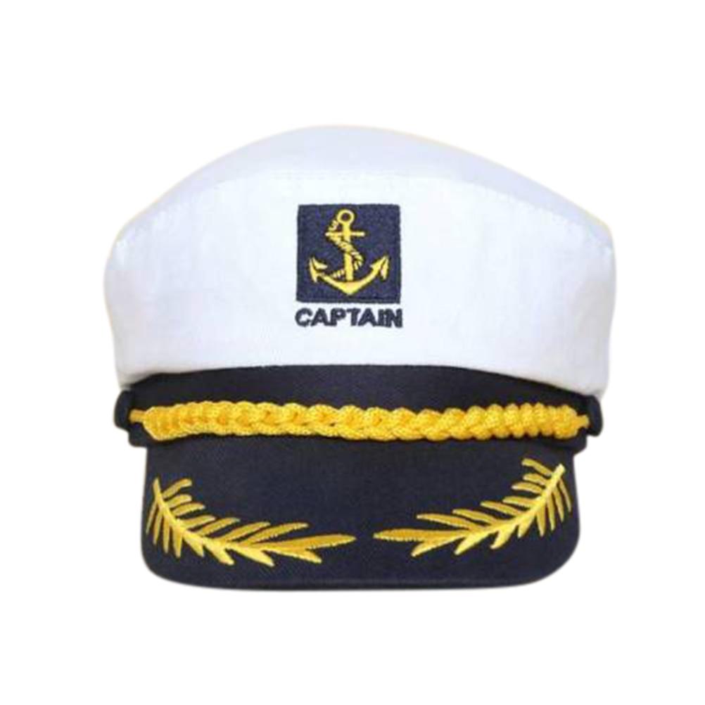 Adults Unisex Anchor Sailor Hat Tie Glasses Navy Captain Fancy Dress Accessoreis