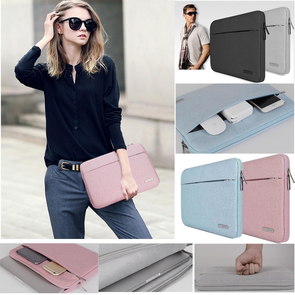 Nylon Laptop Bag Case Sleeve For Xiaomi 13.3 Macbook Air Pro Notebook Handbag For Dell HP Asus Acer Lenovo 11 12 13 15.6