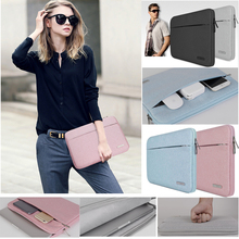 ФОТО laptop case computer accessories leather protective sleeve for macbook mac air 11 13