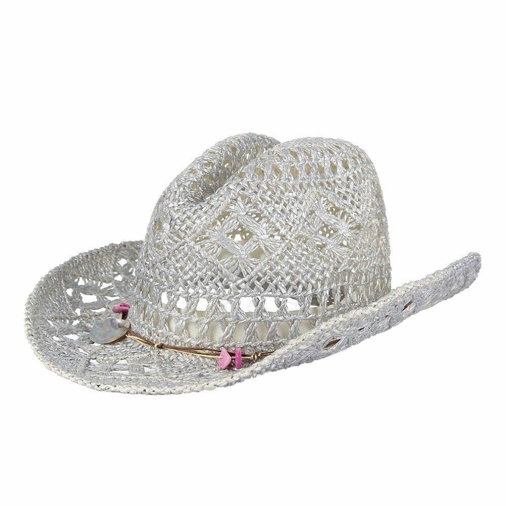 9dc68241708 Greg Bourdy Narrow Brim Straw Cowboy Hat