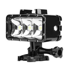 Waterproof Diving Flash Light Underwater Led Fill Light For Gopro Hero Sports Action Camera Accessories