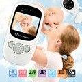 2.4 Pulgadas Bebé Monitor LCD de Visión Nocturna IR Inalámbrico Digital Monitor de cámara de Vídeo de Seguridad de 2 Vías TalkTemperature babyfoon