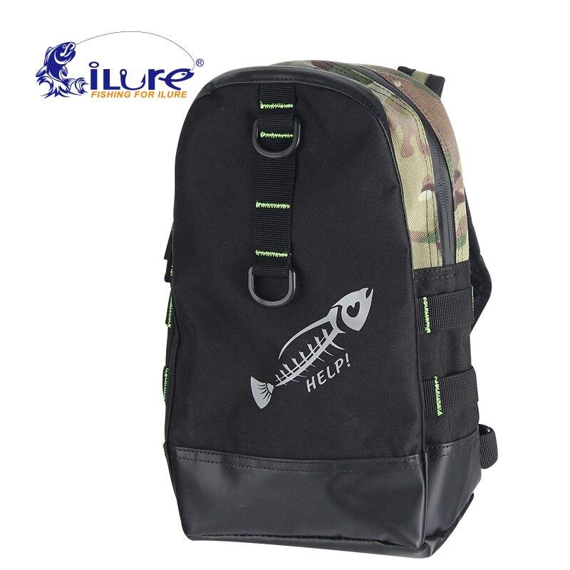 iLure 2017 fishing multi-purpose bag reel bags Pesca fishing tackle bags <font><b>Carp</b></font> Bait for bait with elastic fishing roll Tools bag