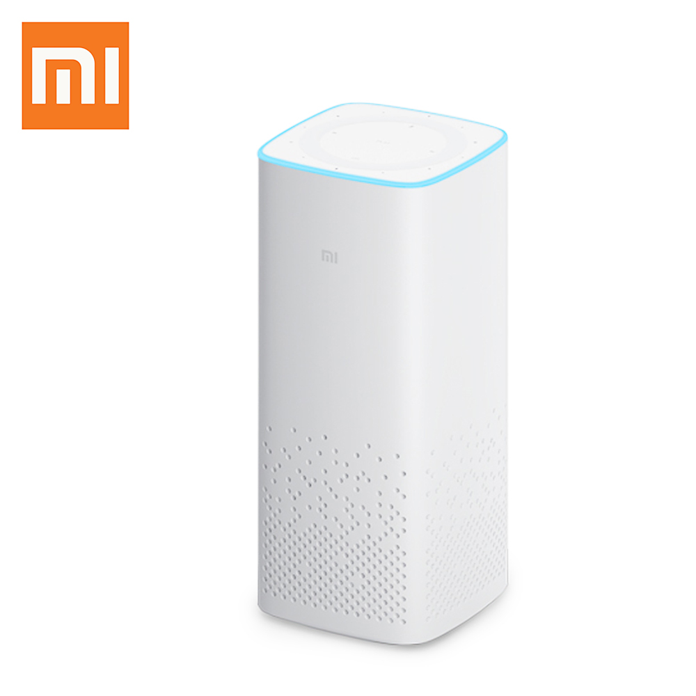 Original Xiaomi Portable AI Bluetooth Smart Speaker WIFI Wireleass Voice Control Music Player Support Mijia Smart Home Control original xiaomi mi speaker mini 2 4g wifi voice smart speaker wireless portable speaker bluetooth 4 1 with 4 mic of smart home