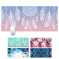 Dream Catcher Feather Pattern Game Mouse Pad Mat Large L Size 900*400*30MM New Rubber Non-Skid Rubber Mouse Pad