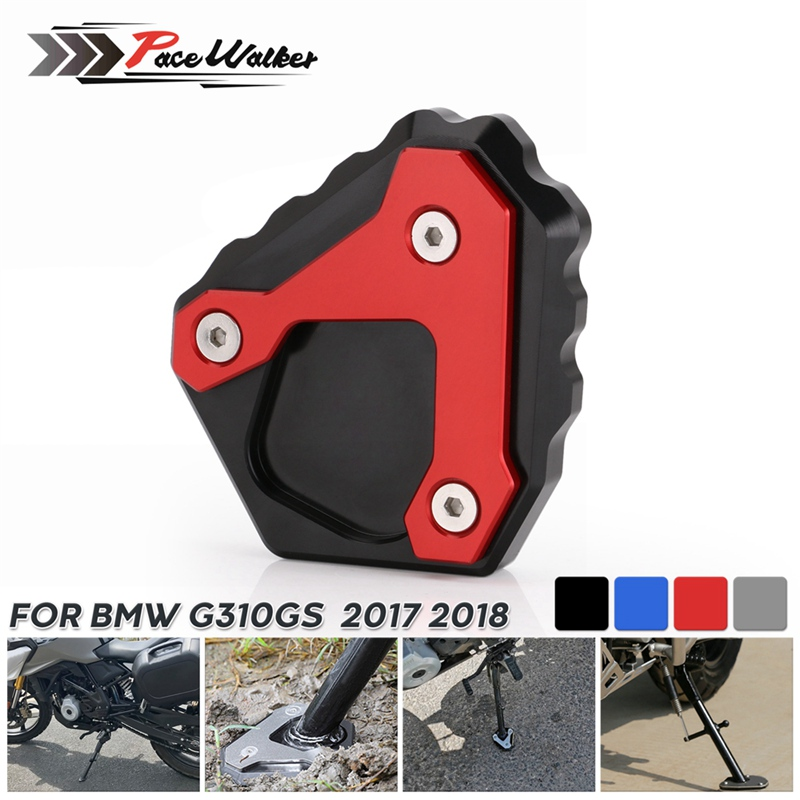 For BMW G310GS Motorcycle Kickstand Support Plate Foot Side Stand Enlarge Extension Pad  For 310GS G 310 GS 2017 2018