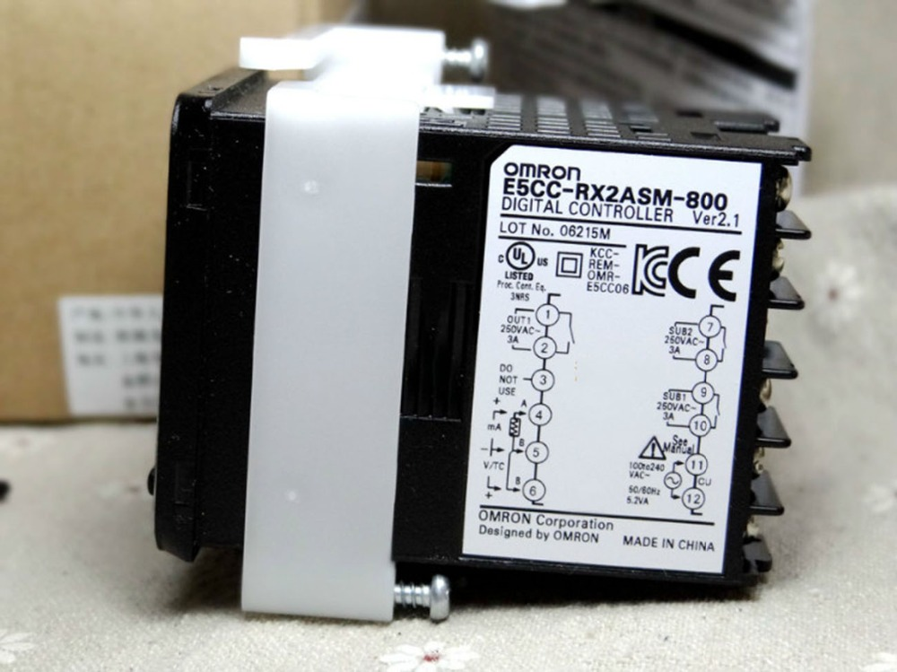все цены на NEW&ORIGINAL thermostat temperature controller relay output control device E5CC-RX2ASM-800 онлайн