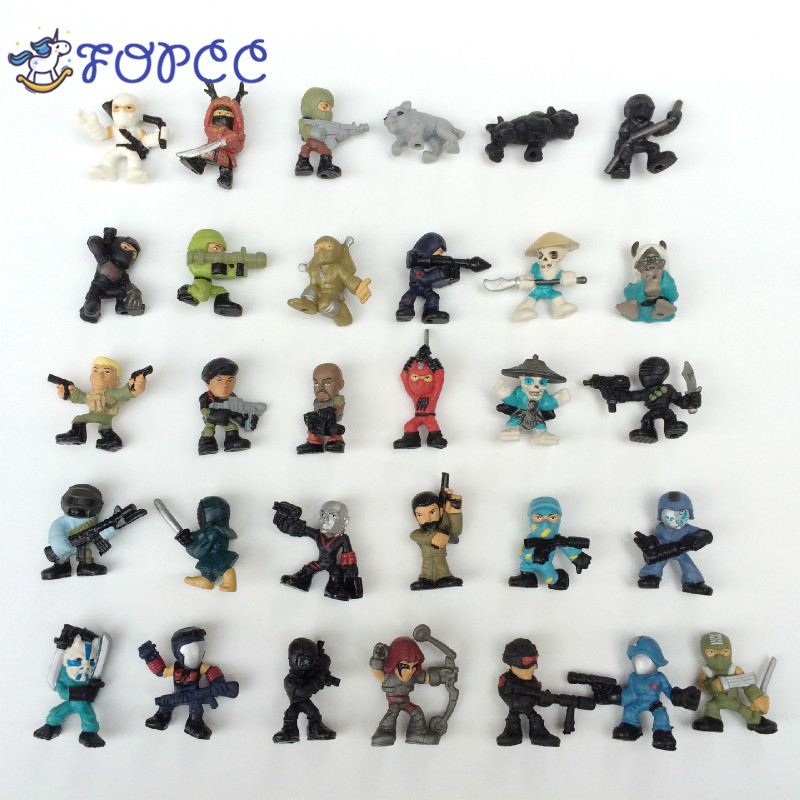 New 10 Pcs/ Lot Ninja Decoration Anime Game Action Figure Ninja Decoration Toy Boys The Best Gift for the Child Toys